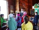 Экскурсия школьников в храм