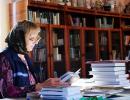 Матушка Галина - работа библиотеки