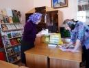 Выдача книг в библиотеке