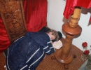 Елизавета Абрамова. Мирный сон под Распятием в Рождественскую ночь