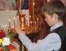 Светлана Чубарова. Всенощная служба проходит быстрее, если следить за свечами!»