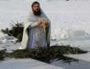Вика Ефименко. Водоосвящение в день Богоявления