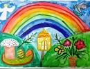1 место – Батка Елена, 5 лет, г. Арсеньев, название работы «Добрая Пасха»
