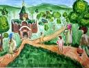 1 место – Королева Дарья, 12 лет, п. Кавалерово, название работы «Утро страстной субботы»
