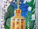 2 место – Ачимова Елизавета, 3,5 лет, г. Дальнегорск, название работы «Пасхальный перезвон»