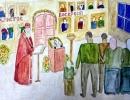 2 место – Сидорова Дарья, 15 лет, п. Кавалерово, название работы «Всенощная»