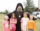 С детьми села Шекляево