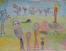 Моя семья - Першогуба Лена 6 л