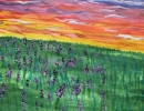 Закат на лугу -Тюрин Андрей 9 л