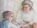 Занятие с мамой - Галкина Ариадна 14 л