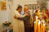 Прихожане позравляли отца Андрея с наступлением Великого праздника.JPG