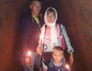 Evstratova-Svetlana-34-goda-Semya-Evstratovyh-v-podzemnom-hrame-p.Svetlaya