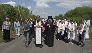 Успенский Крестный ход из Чугуевки в с. Булыга-Фадеево 29 сентября 2014 года.