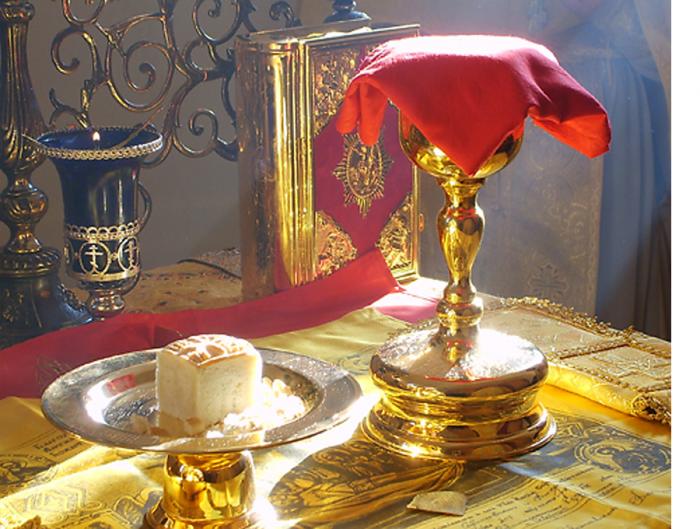 Божественная Литургия в день Обрезания Господня