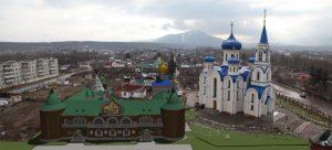 Проект Духовно-просветительского центра с епархиальным управлением и женским монастырём. г. Арсеньев