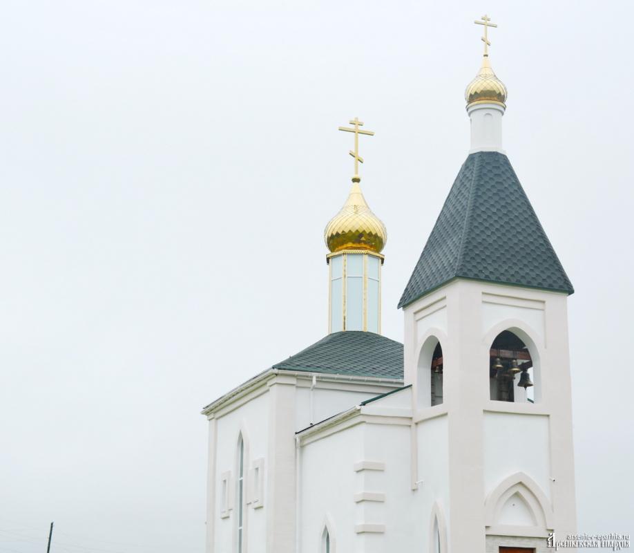 Храм Пресвятой Богородицы - наш ковчег спасения.