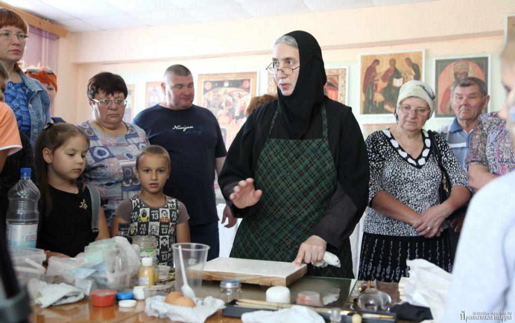Мастер-класс по иконописи в с. Чугуевка