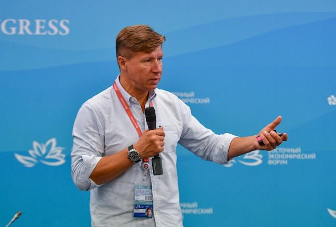 Владимир Волошин на ВЭФ-2019. Фото Фонда Росконгресс
