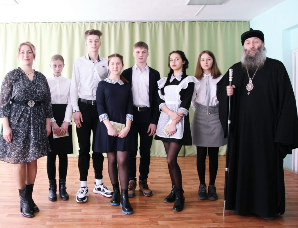 С участниками конкурса